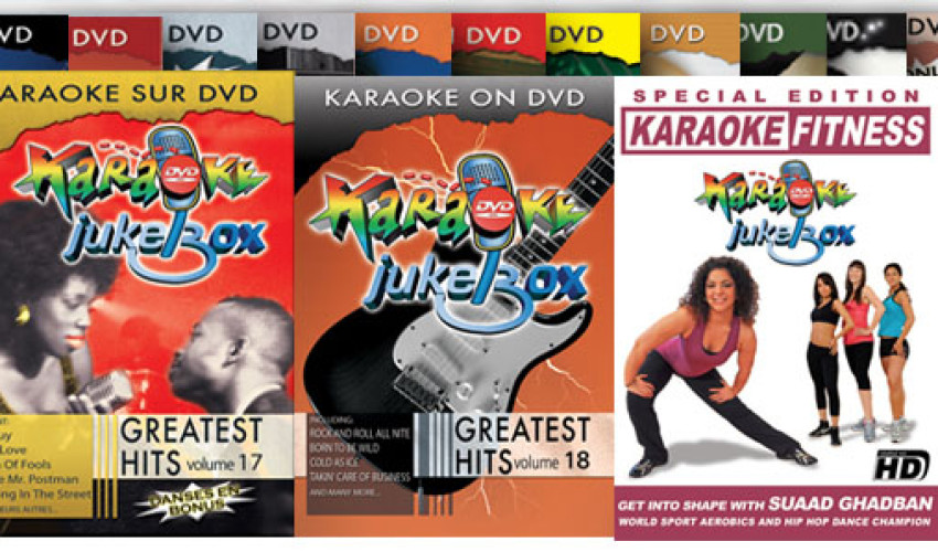 Karaoke Jukebox Live DVD project
